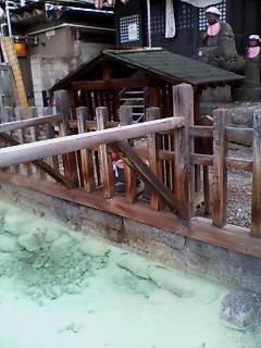草津温泉の地蔵の湯