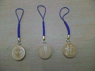 上杉謙信の家紋携帯strap